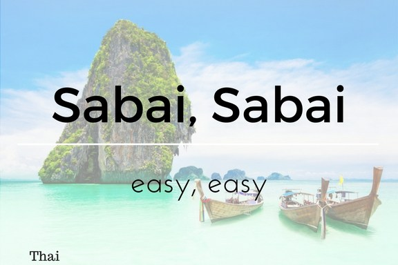Learn Easy Thai Words